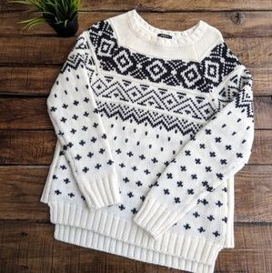 Forever 21 Fair Isle Chunky Knit Sweater